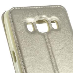 Royal pouzdro s okýnkem na Samsung Galaxy J5 (2016) - zlaté - 6