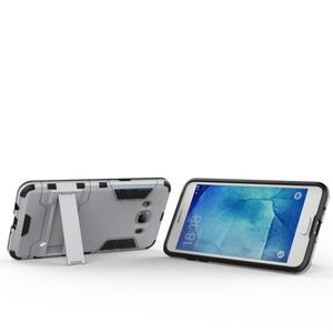 Odolný kryt na mobil Samsung Galaxy J5 (2016) - stříbrný - 6