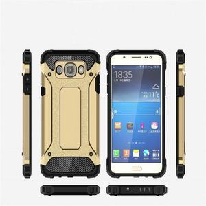 Armor 2v1 odolný obal na Samsung Galaxy J5 (2016) - zlatý - 6