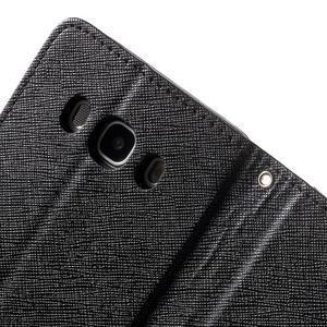 Routy PU kožené pouzdro na Samsung Galaxy J5 (2016) - černé - 6