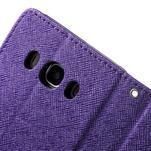 Routy PU kožené pouzdro na Samsung Galaxy J5 (2016) - fialové - 6/7