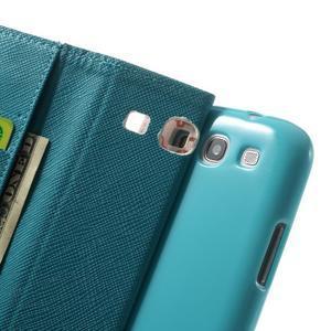 Knížečkové pouzdro na Samsung Galaxy S3 - autíčka - 6