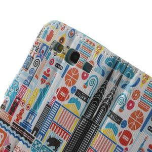 Knížečkové pouzdro na Samsung Galaxy S3 - New York - 6