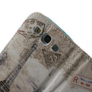 Knížečkové pouzdro na Samsung Galaxy S3 - Eiffelova věž - 6