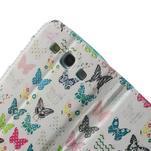 Knížečkové pouzdro na Samsung Galaxy S3 - motýlci - 6/7