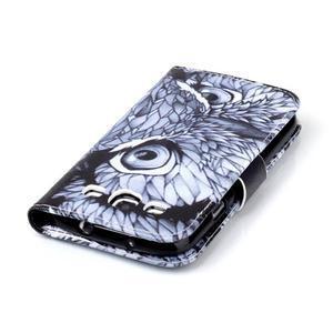 Emotive peněženkové pouzdro na Samsung Galaxy S3 - sova - 6