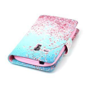 Emotive pouzdro na mobil Samsung Galaxy S3 mini - kvetoucí švestka - 6