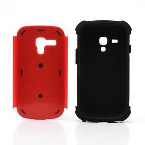 Outdoor odolný obal na mobil Samsung Galaxy S3 mini - červený - 6