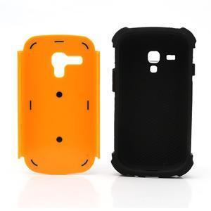 Outdoor odolný obal na mobil Samsung Galaxy S3 mini - oranžový - 6