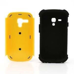 Outdoor odolný obal na mobil Samsung Galaxy S3 mini - žlutý - 6