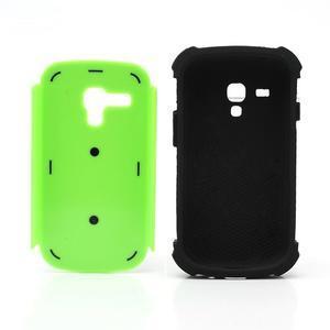 Outdoor odolný obal na mobil Samsung Galaxy S3 mini - zelený - 6