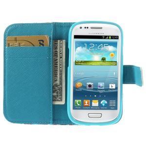 Knížkové pouzdro na mobil Samsung Galaxy S3 mini - New York - 6