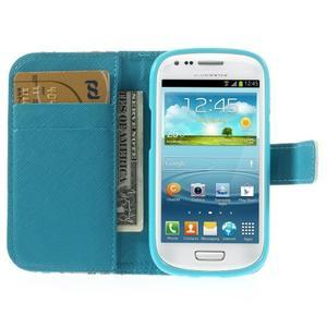 Knížkové pouzdro na mobil Samsung Galaxy S3 mini - motýlci - 6