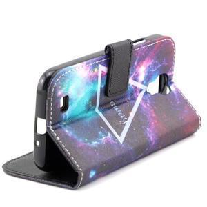 Standy peněženkové pouzdro na Samsung Galaxy S4 - triangl - 6