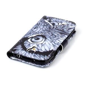 Emotive knížkové pouzdro na Samsung Galaxy S4 - sova - 6