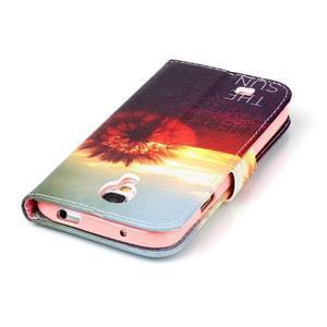 Emotive knížkové pouzdro na Samsung Galaxy S4 - východ slunce - 6