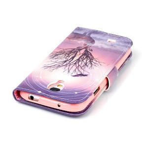 Emotive knížkové pouzdro na Samsung Galaxy S4 - mystický jelen - 6