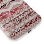 Ultratenký slim gelový obal na Samsung Galaxy S4 - geo tvary - 6/6