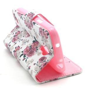 Pouzdro na mobil Samsung Galaxy S4 mini - květiny - 6