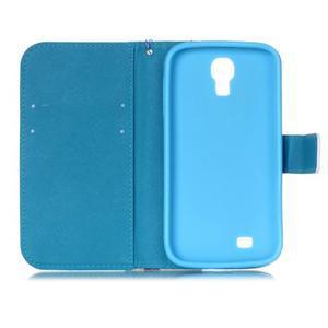 Diary peněženkové pouzdro na mobil Samsung Galaxy S4 mini - barevné lístky - 6