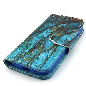 Diaryleather pouzdro na mobil Samsung Galaxy S4 mini - větve stromu - 6