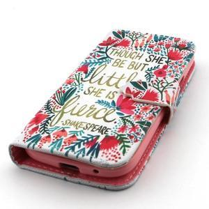 Diaryleather pouzdro na mobil Samsung Galaxy S4 mini - Shakespeare - 6