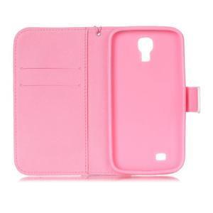 Diary peněženkové pouzdro na mobil Samsung Galaxy S4 mini - pampelišky - 6