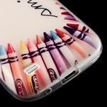 Gelový obal na mobil Samsung Galaxy S4 mini - život je krásný - 6/6