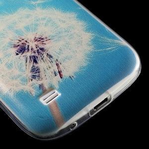 Gelový obal na mobil Samsung Galaxy S4 mini - pampeliška - 6