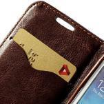 Jeans stylové pouzdro na mobil Samsung Galaxy S4 mini - černomodré - 6/7