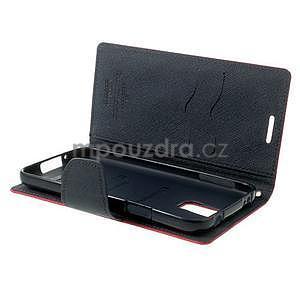 Diary peněženkové pouzdro na Samsung Galaxy S5 - rose - 6