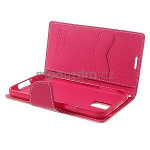Diary peněženkové pouzdro na Samsung Galaxy S5 - růžové - 6