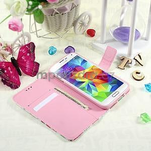 Ochranné pouzdro na mobil Samsung Galaxy S5 - květy - 6