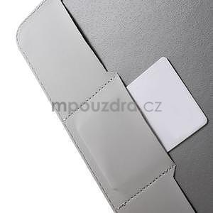 Ochranné koženkové pouzdro na Samsung Galaxy Tab E 9.6 - Eiffelova věž - 6