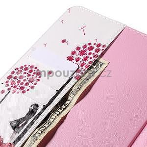Ochranné koženkové pouzdro na Samsung Galaxy Tab E 9.6 - dívka & pamepelišky - 6