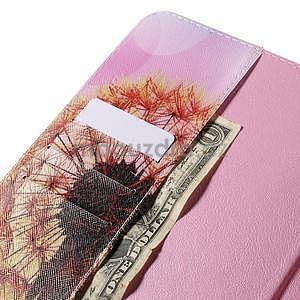 Ochranné koženkové pouzdro na Samsung Galaxy Tab E 9.6 - oranžová pamepelišky - 6