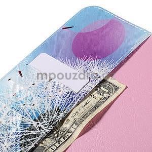 Ochranné koženkové pouzdro na Samsung Galaxy Tab E 9.6 - odkvetlá pampeliška - 6