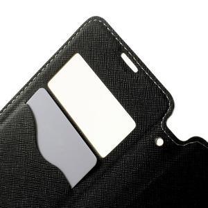 Peněženkové pouzdro s okýnkem na Sony Xperia E3 - bílé - 6