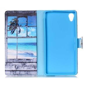 Emotive pouzdro na mobil Sony Xperia M4 Aqua - plážová scenérie - 6