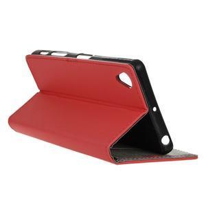 Walle peněženkové pouzdro na Sony Xperia X - červené - 6
