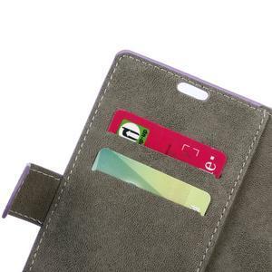 Walle peněženkové pouzdro na Sony Xperia X - fialové - 6