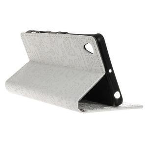 Cartoo peněženkové pouzdro na Sony Xperia X - bílé - 6