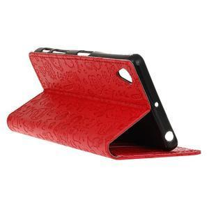 Cartoo peněženkové pouzdro na Sony Xperia X - červené - 6