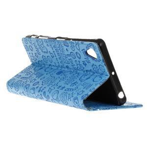 Cartoo peněženkové pouzdro na Sony Xperia X - modré - 6
