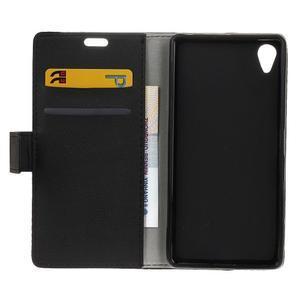 Grain koženkové pouzdro na Sony Xperia X - černé - 6