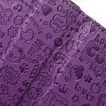 Cartoo peněženkové pouzdro na mobil Sony Xperia XA - fialové - 6/7