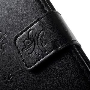 Butterfly pouzdro na mobil Sony Xperia XA - černé - 6