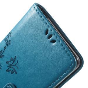 Butterfly pouzdro na mobil Sony Xperia XA - modré - 6