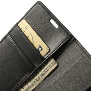 Sonata PU kožené pouzdro na mobil Sony Xperia Z1 Compact - černé - 6