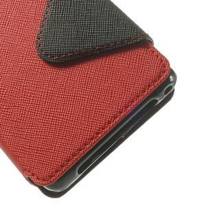 Okýnkové pouzdro na mobil Sony Xperia Z1 Compact - červené - 6